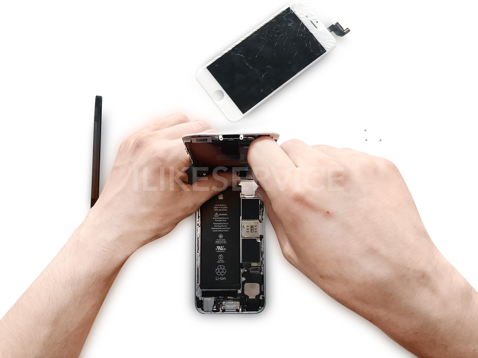 замена микрофона iPhone 6S фото