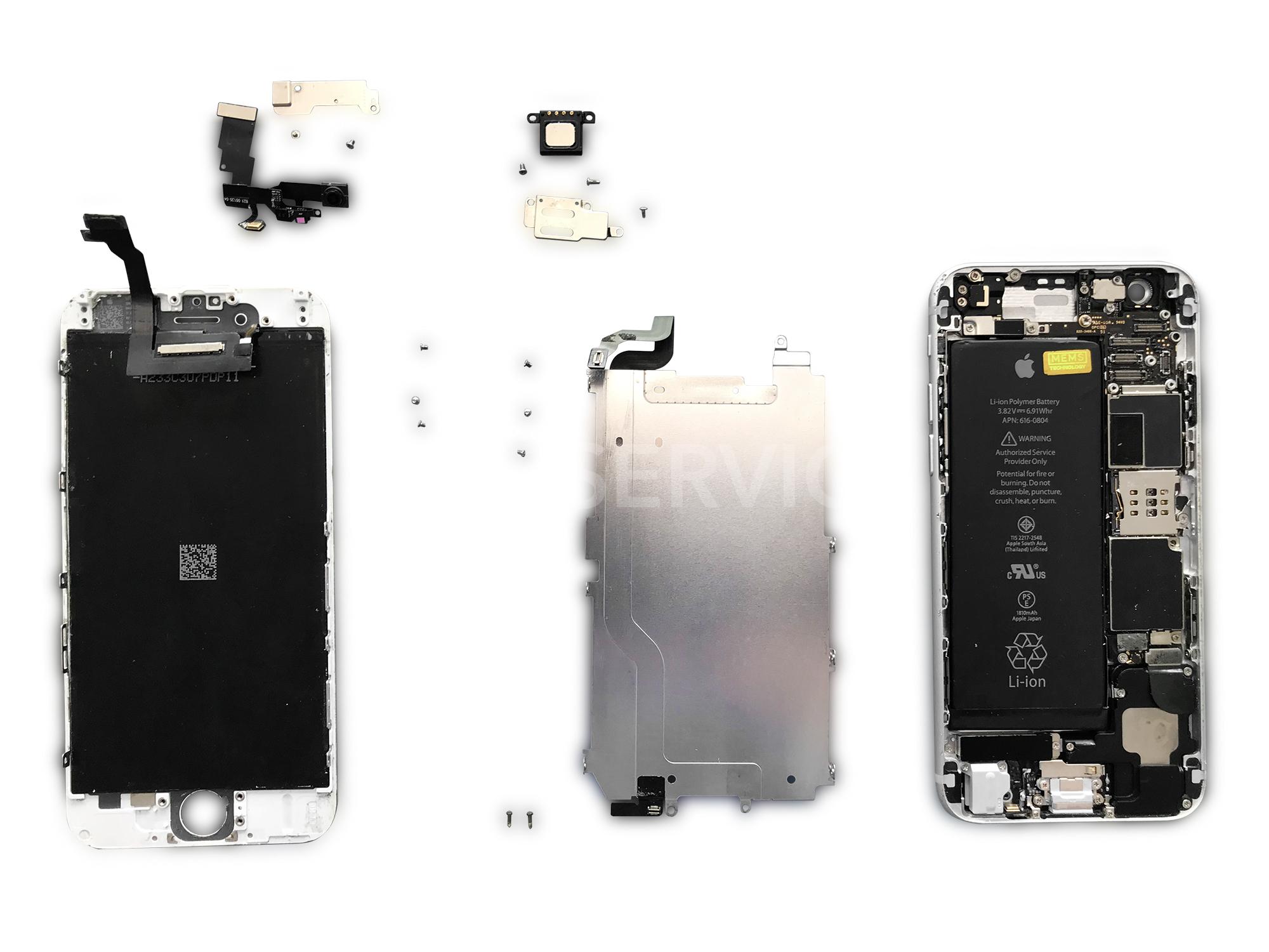 Замена дисплея Айфон 6