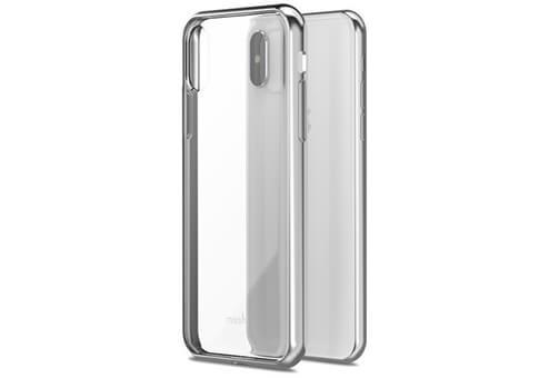 Чехол Moshi Vitros для iPhone X серебристый