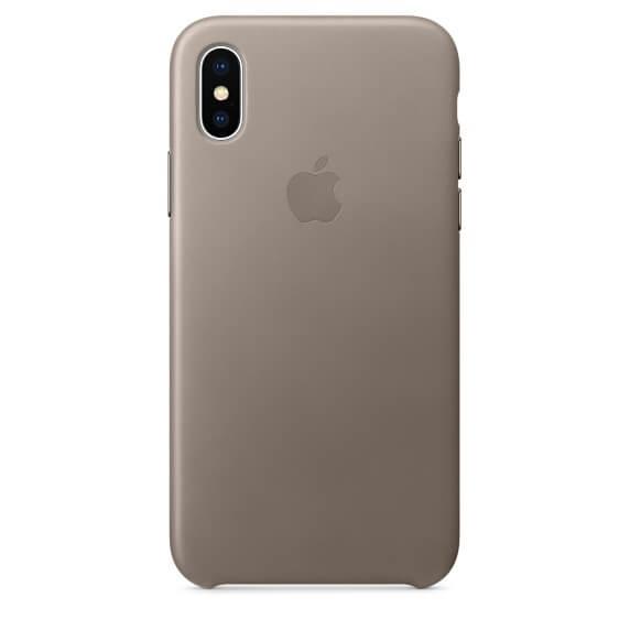 Кожаный чехол для iPhone X