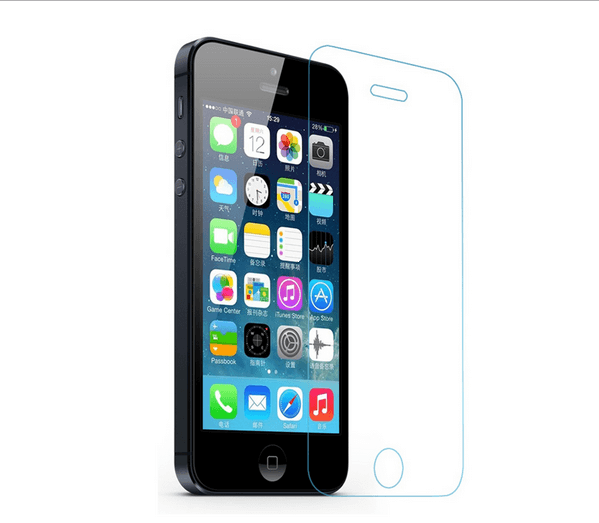 Защитное стекло для iPhone 5/5c/5s tempered glass 0.2mm