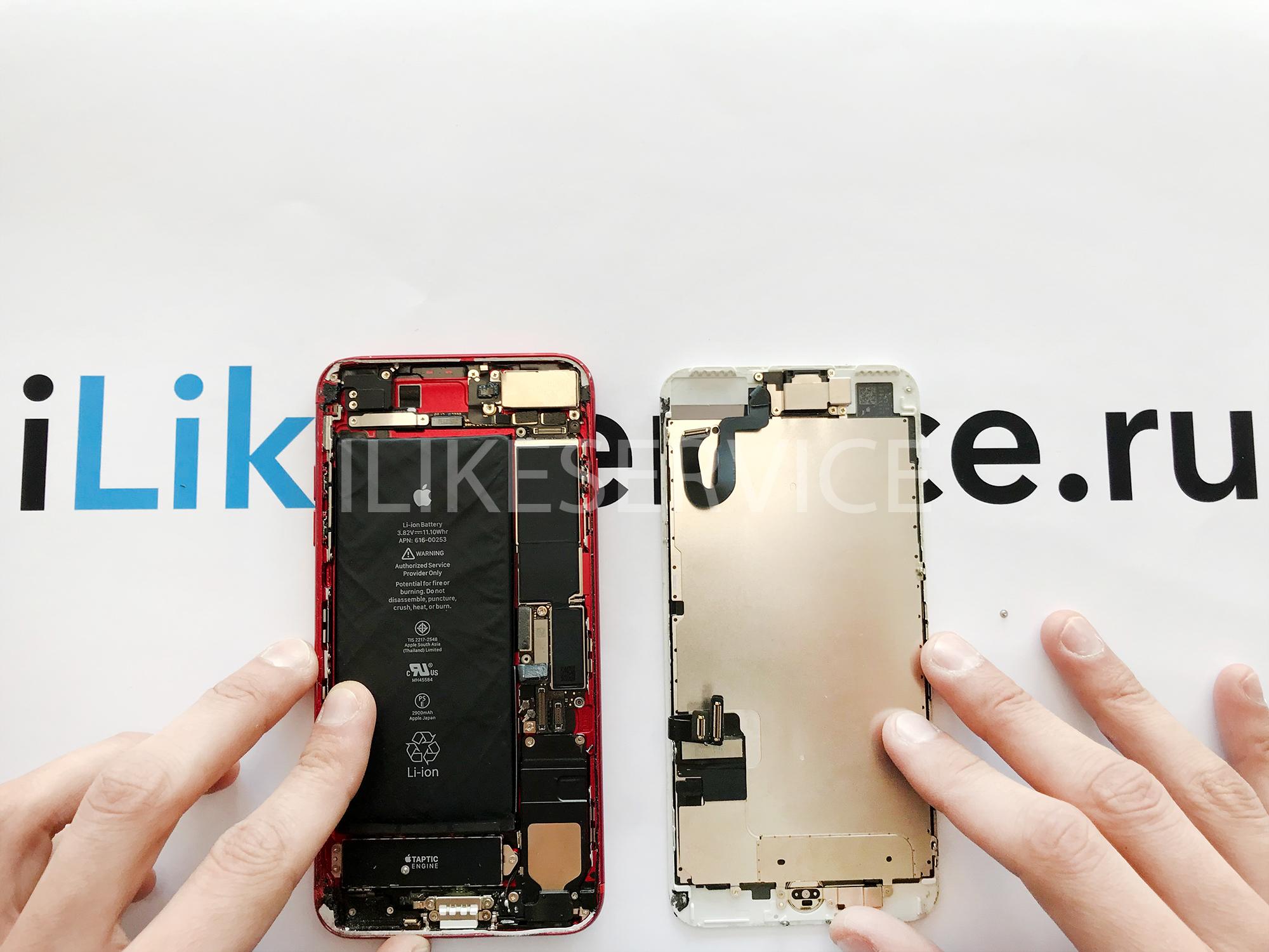 Замена задней камеры на iPhone 7