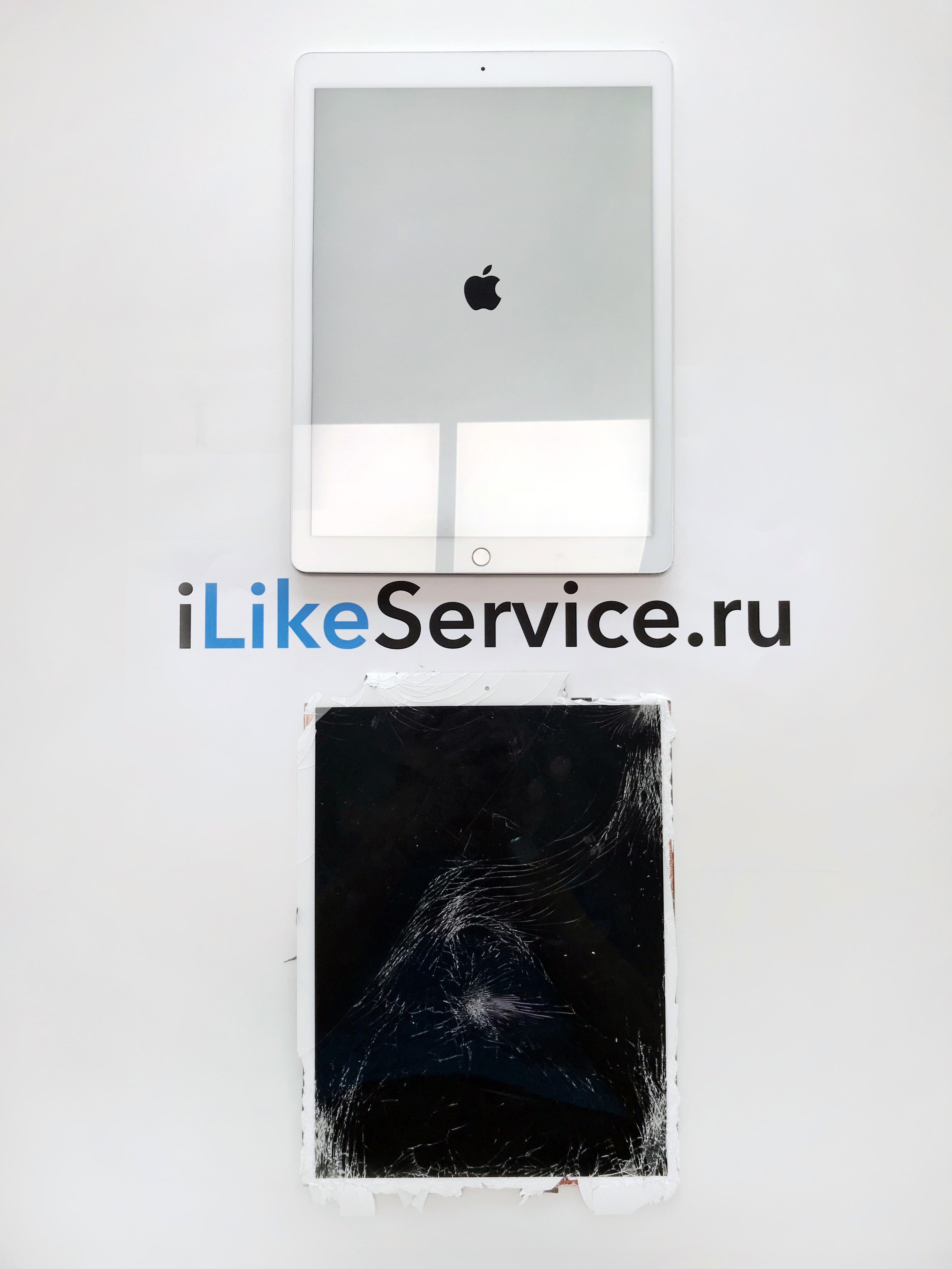 Замена рамки iPad