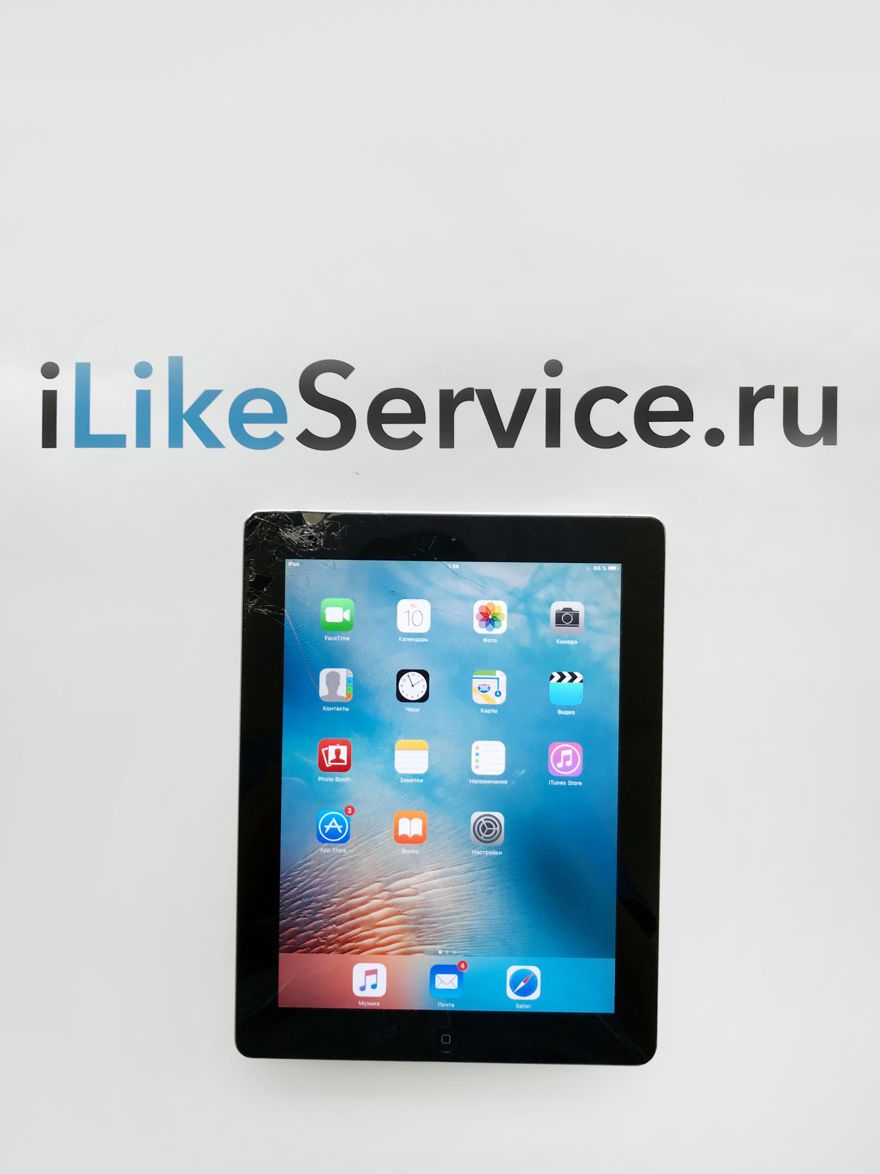 Замена дисплея LCD iPad