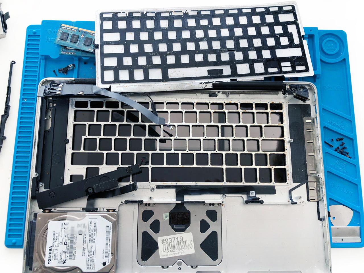Увеличение памяти Macbook