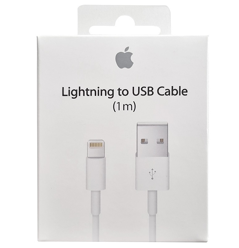Кабель для iPod, iPhone, iPad Apple Lightning to USB Cable (1 m) (MQUE2ZM/A)